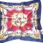 ผ้าพันคอผ้าซาติน ลายจักรพรรดิสีน้ำเงิน thumbnail 2