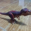 Dino T-Rex with Dark Red and Dark Brown Back thumbnail 2