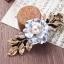 เลือกสี แบบด้วนในค่ะ กิ๊บใหญ่ ดอกไม้สีทองสไตล์กรีก Korea HR9407 thumbnail 3