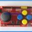 1x JoyStick Keypad Shield Module for Arduino nRF24L01 Nokia5110 LCD I2C (RED PCB) thumbnail 1