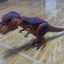 Dino T-Rex with Dark Red and Dark Brown Back thumbnail 1