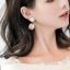 เลือกสีด้านในค่ะ ต่างหู Lux Velvet Heart Korea ER4512 thumbnail 3