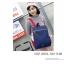 กระเป๋าเป้ Pocket Flap style สีน้ำเงินแดง thumbnail 1