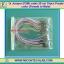 1x Jumper (F2M) cable 20 cm 10pcs Purple color (Female to Male) thumbnail 1