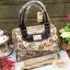 กระเป๋า Chalita wu + สายสะพาย สีม่วง ลายนาฬิกา thumbnail 1