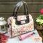 กระเป๋า Chalita wu + สายสะพาย สีขาว ลายหอไอเฟล thumbnail 1