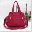 กระเป๋าถือ + สะพายไหล่ สีเลือดหมู thumbnail 1