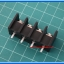 1x Terminal Block 10 mm 4 Pins 300V/25A Connector Barrier Type thumbnail 2