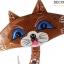 ตุ๊กตาไม้แกะสลัก แมวเจ้าเลห์ แอลฟี่ (เซ็ท 3 ตัว) thumbnail 3