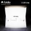 Foldio สตูดิโอถ่ายภาพ ขนาดพกพา ขนาด 10″ (ไฟ LED 2 เส้น) thumbnail 1