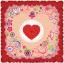 ผ้าพันคอลาย Rose Of Love thumbnail 1
