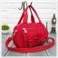 กระเป๋าเนื้อ kipling + สะพาย ใบเล็ก สีแดง thumbnail 1