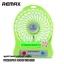 ราคาพิเศษ!! Remax พัดลมมือถือ รุ่นพกพา มีแบ็ตเตอรี่ในตัว ลมแรง เย็นเร็วทันใจ Mini Portable Fan With Built in LI-on Battery thumbnail 7