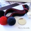 เลือกสีด้านในค่ะ ผ้ายืดรัดผม Pom Pearl HR5587 thumbnail 11