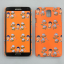 AURORE ORANGE SNAP CASE FOR GALAXY NOTE 3 thumbnail 1