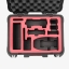 PGYTECH safety carrying case for DJI Mavic Air Waterproof Hard EVA foam Carrying Bag Mavic Air Drone Accessories Price: thumbnail 4