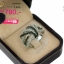 แหวนเพชร ประดับ เพชรCZ แหวนทรงแถว ฉลุโปร่งฝังเพชรกลมขาวสลับเพชรกลมดำ ดีไซน์เก๋แปลกตา ไม่ซ้ำแบบใครแน่นอน thumbnail 2
