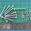 10x M3* 25mm Screws + 10x M3 Nuts (สกรูหัวกลม+น็อตตัวเมีย ขนาด 3มม ยาว 25มม) thumbnail 3