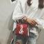 กระเป๋าถือ + สะพายข้าง LV SUPREME สีแดง thumbnail 3