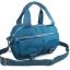 กระเป๋าเนื้อ kipling + สะพาย ใบเล็ก สีฟ้า thumbnail 1