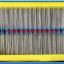 100x Resistor 1 KOhm 1/4 Watt 1% Metal film Resistor (100pcs per lot) thumbnail 2