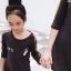 เสื้อครอบครัว ชุดครอบครัว พ่อ แม่ ลูก Mini Hearts Set thumbnail 4