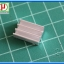 1x Aluminum Heatsink 16x11x5 mm with Thermal Conductive Tape thumbnail 3