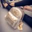 กระเป๋าเป้เล็ก สี Gold thumbnail 4