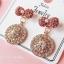 เลือกลายด้านในค่ะ ต่างหูเกาหลี ก้านเงินแท้ 925 Romantic Jewel Korea ER124 thumbnail 9