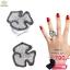 แหวนเงิน ประดับเพชร CZ แหวนทรงใบบัว ประดับเพชรกลมขาวล้อมรอบเพชรกลมดำ ดีไซน์สวยหรูดูแพง สวมใส่มิกซ์แอนด์แมตช์เข้ากับโอกาสต่างๆ thumbnail 1