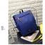 กระเป๋าเป้ Pocket Flap style สีน้ำเงิน thumbnail 1