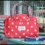 กระเป๋าถือ + สะพาย 2 ซิป เนื้อบุ thumbnail 1