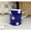 แก้วมักเซรามิกสีน้ำเงินลายดาว thumbnail 10