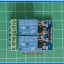 1x Relay 2 channel Opto Isolator DC 12V 10A 250VAC module thumbnail 2