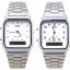 นาฬิกา CASIO นาฬิกาคู่ เรือนเงิน รุ่น AQ-230A-7D กับ AQ-230A-7B ประกันศูนย์ 1 ปี thumbnail 1