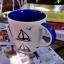 แก้วมักเซรามิคพื้นขาว ลายเรือใบ thumbnail 5