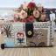 กระเป๋าสตางค์ Chalita wu สีครีม ลายโปสการ์ด thumbnail 1
