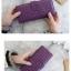 กระเป๋าสตางค์ทรงยาว สีม่วง thumbnail 6