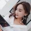 เลือกสีด้านในค่ะ ต่างหู Long Pearl Ribbon Korea ER6314 thumbnail 16