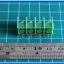 1x Barrier Terminal Connector 4 Pins Pitch 7.62 mm (Green Color) thumbnail 5