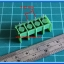 1x Barrier Terminal Connector 4 Pins Pitch 7.62 mm (Green Color) thumbnail 2