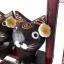 ตุ๊กตาไม้แมวคู่บนชิงช้า แบบ A thumbnail 3