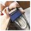 กระเป๋าถือ + สะพายข้าง HERMES mini style น้ำเงิน-ครีม thumbnail 2