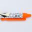AURORE GRID FLUORESCENCE BALL PEN (ORANGE INK) thumbnail 3