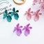 ต่างหูเกาหลี ต่างหู Orchid Flower Korea ER9631 thumbnail 1