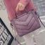 กระเป๋าแฟชั่น สีชมพูม่วง thumbnail 1