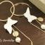 ต่างหู White Butterfly Korea ER90141 thumbnail 7