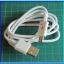 1x Micro USB Cable 100 cm Length for Leonardo NodeMCU (White Color) thumbnail 3