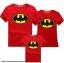 เสื้อครอบครัว ชุดครอบครัว เสื้อ พ่อ แม่ ลูก ลาย แบทแมน ผลิตจากผ้าคอตตอน 100% thumbnail 1