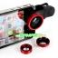 เลนส์เสริม 3 in 1 Fish Eye + Wide Angle + Micro Lens Kit สำหรับมือถือทุกรุ่น thumbnail 1